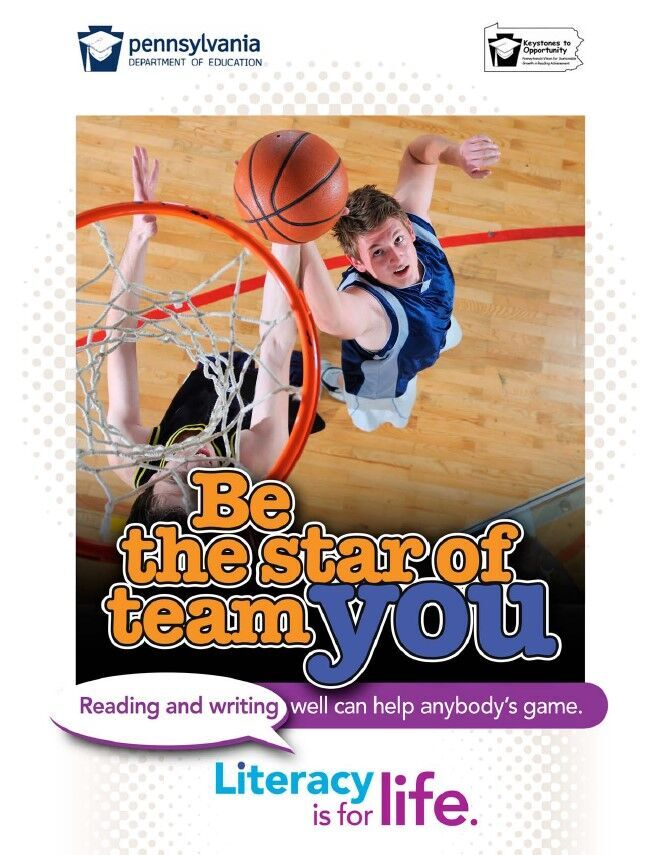 poster of boys playing basketball - be the star of team you
