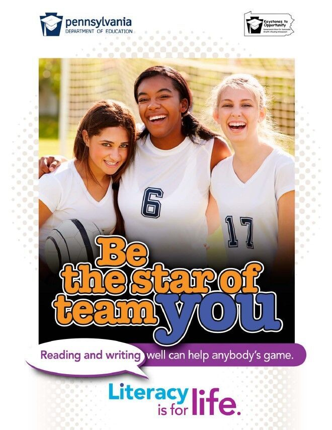 poster of girls playing soccer - be the star of team you