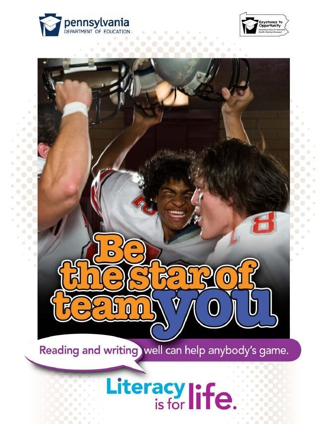 poster of football players - be the star of team you