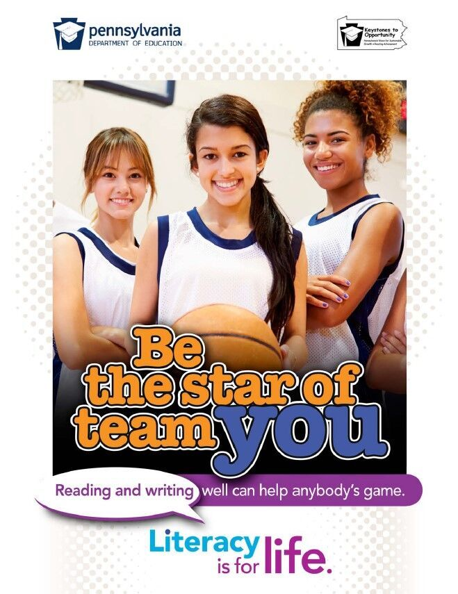 poster of girls playing basketball  - be the star of team you