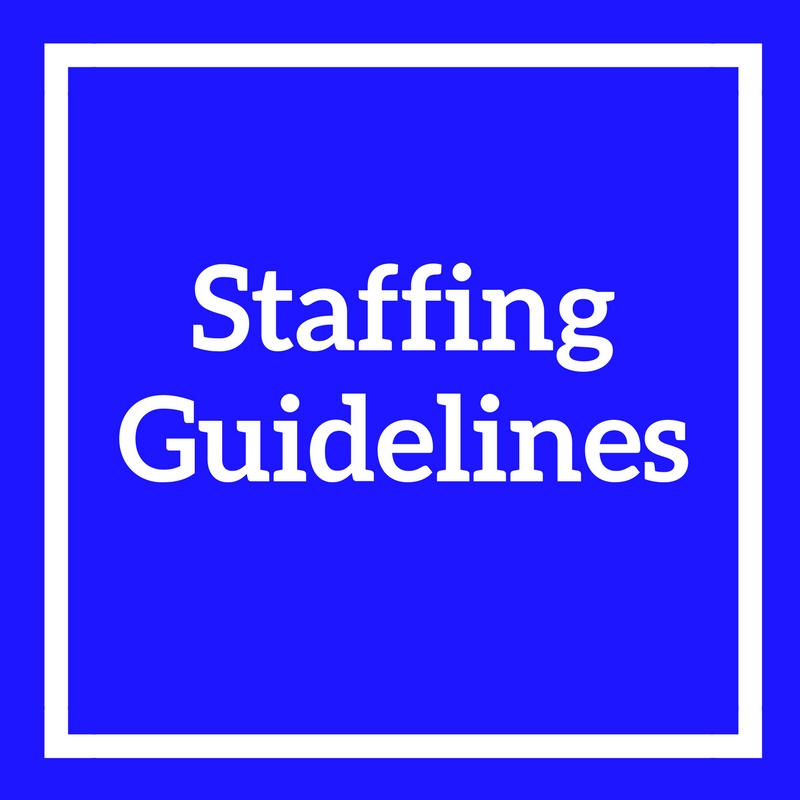 Staffing Guidelines