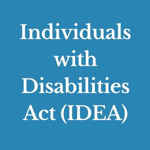 Individuals with Disabilities Act (IDEA)