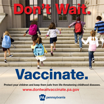 Don't Wait.  Vaccinate.