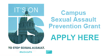 It's On Us - Campus Sexual Assault Prevention Grant - Apply Here