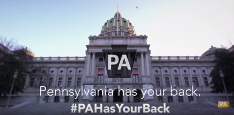 Pennsylvania has your back.
