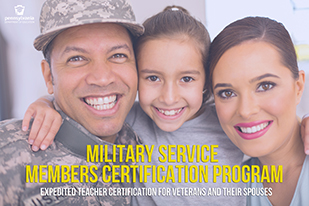 Military Service Members Certification Program