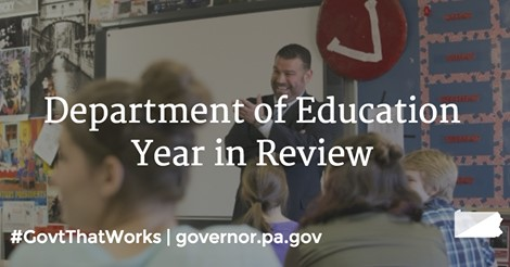 Department of Education Year in Review
