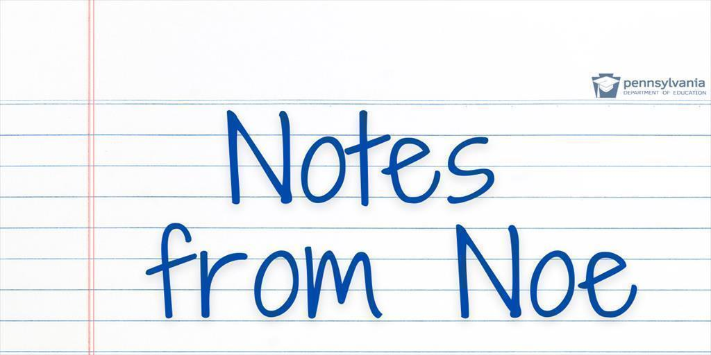 Notes from Noe